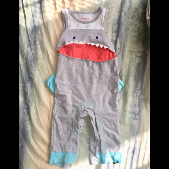 55768cfcad8f cat   jack Other - Shark Romper